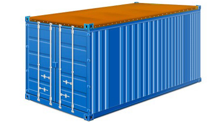 Open-top container